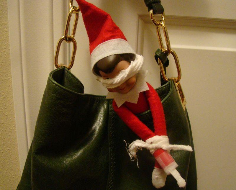 Elf bound and gagged