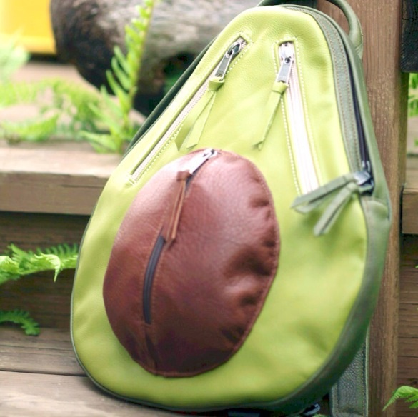 Avacado backpack