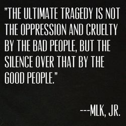 MLK silence quote blk