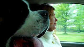 Ben and me in car