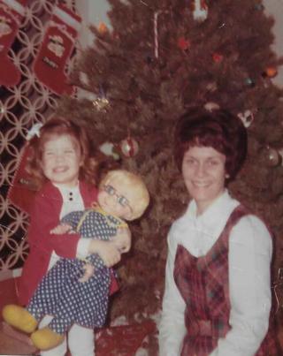 Mom and Mrs. Beasley